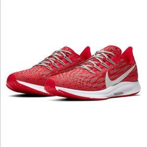 NEW Nike Air Zoom Pegasus 36 Ohio State Buckeyes